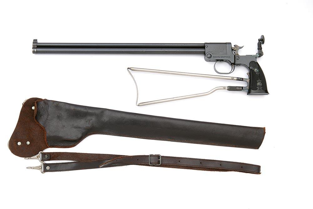 Wonderful Marble's Model 1908 Game Getter Pistol with Rare